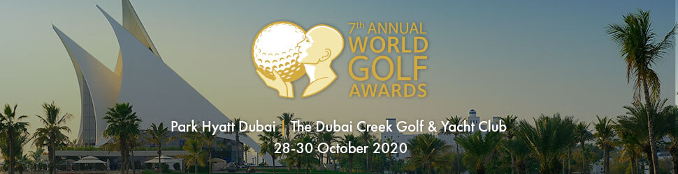 World Golf Awards 2020 Billboard